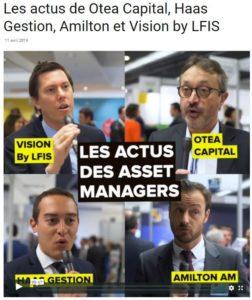 Les actus de OTEA Capital