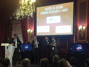 OTEA Capital reçoit le Trophée de Bronze de Gestion de Fortune dans la catégorie des sociétés de gestion avec un encours inférieur à 1 Md€