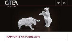 Rapports OCTOBRE 2016