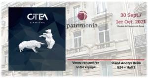OTEA Capital participe pour la première fois au salon Patrimonia