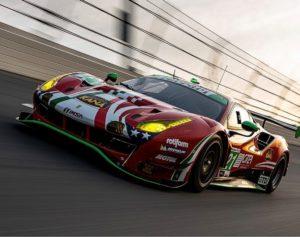 Avec le duo Cressoni/Mann, Otea s'empare du titre de Champions Italiens de GT Sprint 2021